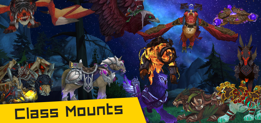 how to get a mount wow